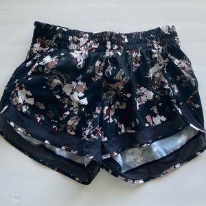 Athleta floral shorts